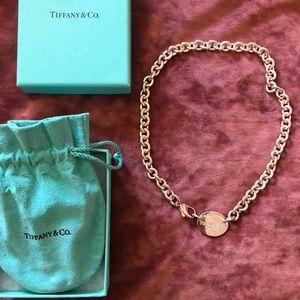 Tiffany & Co. Tag Chocker